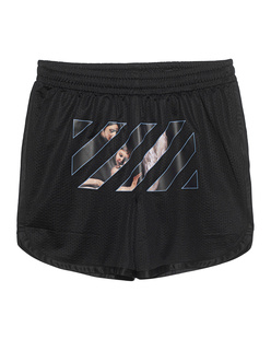 OFF-WHITE C/O VIRGIL ABLOH Caravaggio Angel Mesh Black