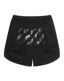 OFF-WHITE C/O VIRGIL ABLOH Caravaggio Shorts Black