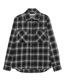OFF-WHITE C/O VIRGIL ABLOH Flannel Check Black