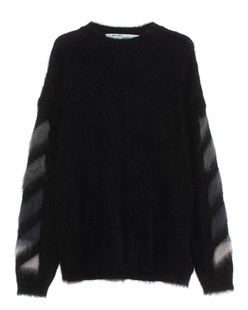 OFF-WHITE C/O VIRGIL ABLOH Brushed Mohair Black