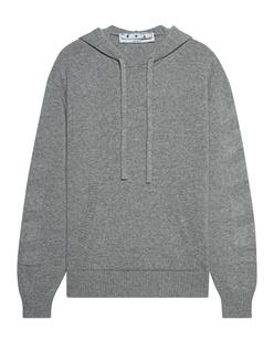 OFF-WHITE C/O VIRGIL ABLOH Cashmere Hood Grey