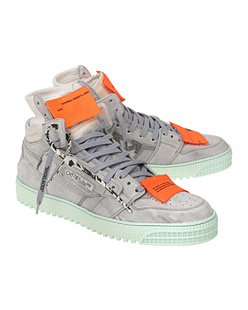 OFF-WHITE C/O VIRGIL ABLOH 3.0 Off Court Cow Suede Light Blue