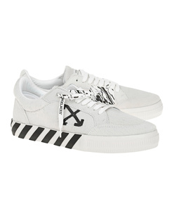 OFF-WHITE C/O VIRGIL ABLOH Leather Low Vulcanized Pony White