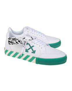 OFF-WHITE C/O VIRGIL ABLOH Low Vulcanized Canvas Green White