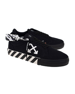 OFF-WHITE C/O VIRGIL ABLOH Low Vulcanized Canvas Black