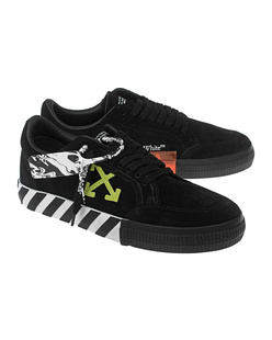 OFF-WHITE C/O VIRGIL ABLOH Low Vulcanized Cow Suede Black