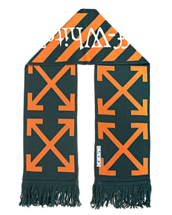 OFF-WHITE C/O VIRGIL ABLOH TM Scarf Orange Dark Green