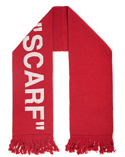 OFF-WHITE C/O VIRGIL ABLOH Quote Scarf Red