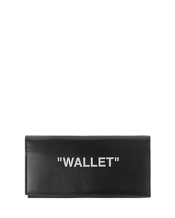 OFF-WHITE C/O VIRGIL ABLOH Leather Quote Black