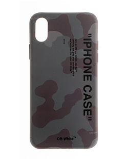 OFF-WHITE C/O VIRGIL ABLOH iPhone X Quote Camouflage