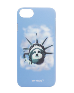 OFF-WHITE C/O VIRGIL ABLOH iPhone 8 Liberty Blue