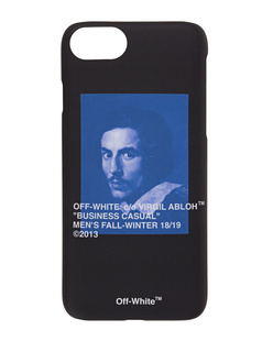 OFF-WHITE C/O VIRGIL ABLOH iPhone 8 Bernini Black