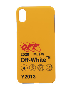 OFF-WHITE C/O VIRGIL ABLOH iPhone Xs Max Industrial Y2013 Yellow