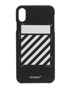 OFF-WHITE C/O VIRGIL ABLOH iPhone XR Diag Black