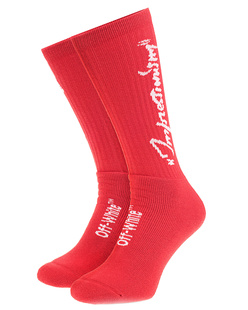 OFF-WHITE C/O VIRGIL ABLOH Summer Socks Red