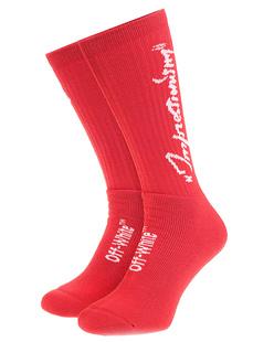 OFF-WHITE C/O VIRGIL ABLOH Summer Socks Red