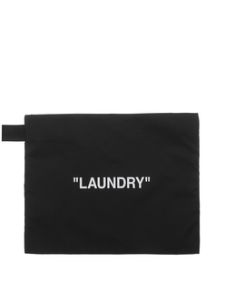 "OFF-WHITE C/O VIRGIL ABLOH ""Laundry"" Pouch Black"