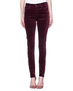 AG Jeans The Farrah Skinny Deep Currant