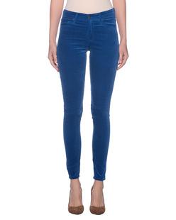 AG Jeans Farrah Skinny Velvet Royal Blue