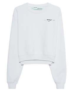 OFF-WHITE C/O VIRGIL ABLOH Crop Hanna Leaves White