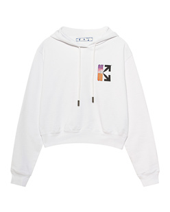 OFF-WHITE C/O VIRGIL ABLOH Gradient Crop White