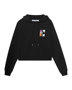 OFF-WHITE C/O VIRGIL ABLOH Gradient Crop Black