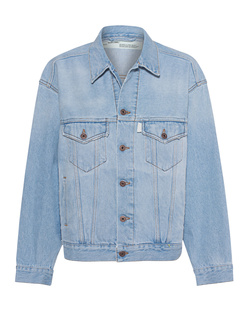OFF-WHITE C/O VIRGIL ABLOH Over Denim Jacket Bleach