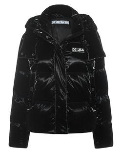OFF-WHITE C/O VIRGIL ABLOH Puffer Velvet Black