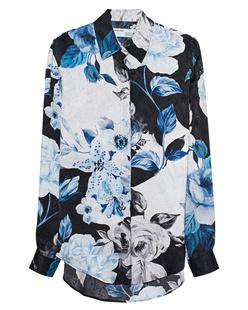 OFF-WHITE C/O VIRGIL ABLOH Floral All Over Silk Multicolor
