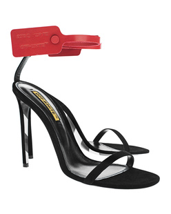 OFF-WHITE C/O VIRGIL ABLOH Zip Tie Sandal Black