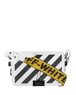 OFF-WHITE C/O VIRGIL ABLOH Diag Mini Flap White