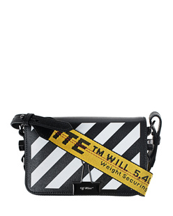 OFF-WHITE C/O VIRGIL ABLOH Diag Mini Flap Black