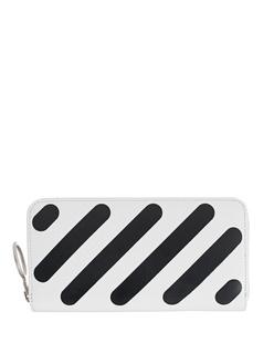 OFF-WHITE C/O VIRGIL ABLOH Leather Diag White