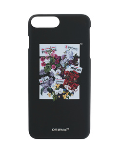 OFF-WHITE C/O VIRGIL ABLOH iPhone 7 Plus Flowershop Black