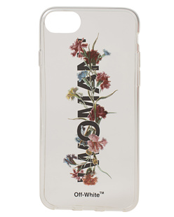 OFF-WHITE C/O VIRGIL ABLOH iPhone  8 Flowers White