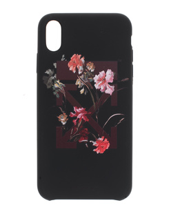 OFF-WHITE C/O VIRGIL ABLOH iPhone X/XS Max Flowers  Black