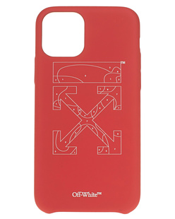 OFF-WHITE C/O VIRGIL ABLOH Puzzle Iphone 11 Pro Red