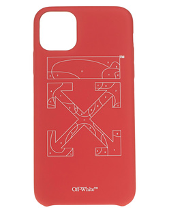 OFF-WHITE C/O VIRGIL ABLOH Puzzle Iphone 11 Pro Max Red