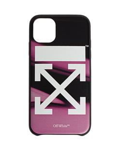 OFF-WHITE C/O VIRGIL ABLOH iPhone 11 Arrow Liquid Pink