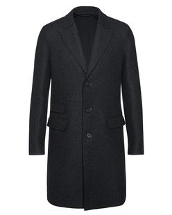 NEIL BARRETT Classic Wool Anthra