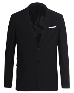 NEIL BARRETT Special Slim Fit Black