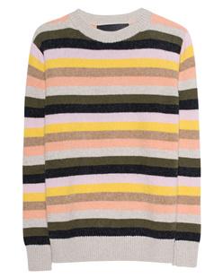 The Elder Statesman Inch Pastel Stripe Multicolor
