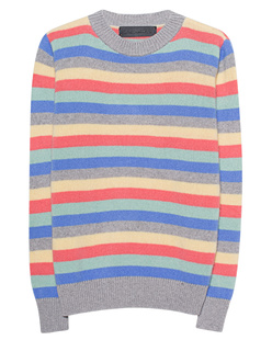 The Elder Statesman Inch Stripe Sweater Multicolor