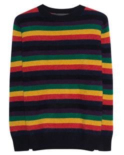The Elder Statesman Inch Rainbow Stripe Multicolor