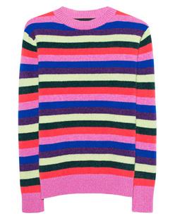 The Elder Statesman Stripe Cashmere Multicolor