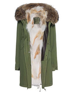 MR & MRS ITALY Army Parka Patch Coyote