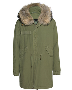 MR & MRS ITALY Army Natural Hood Green