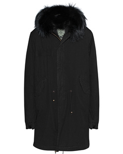 MR & MRS ITALY Shell Fur Black