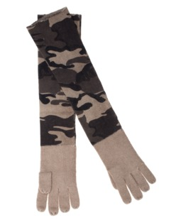 ALBEROTANZA Plain Sky Gloves Camou Green