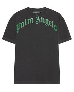 Palm Angels Vintage Wash Curved Black